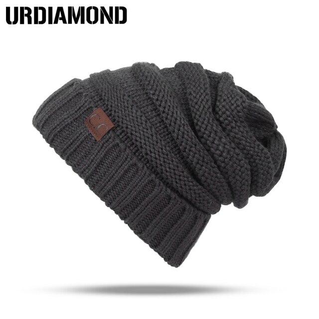 2018 Skullies Beanies Winter Hat For Women Warm Hat Fashion Knitting Warm Cap Warm Wool Hat Cap Leisure Fashion Winter Hats