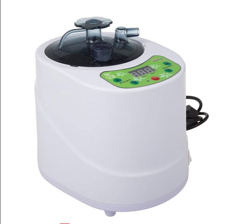 220V 1000W Steam Sauna 2.0L 9 Level Remote Controlled steam Generator Stainless Steel Steaming Vessel Steamer Pot