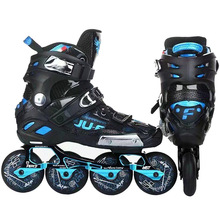 War Wolf Inline Professional Skates Banana Frame Slalom Adult Roller Skating Shoes Sliding Free Skating Good As SEBA Patines
