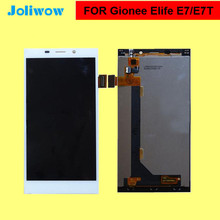 Gionee Elife E7 LCD Display + Touch Screen Digitizer 100% New Original Glass Gionee E7  Free Shipping цена