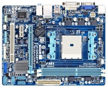 A75m-ds2 a75 Desktop motherboard A75M-DS2 FM1 DDR3 usb3.0 all solid single