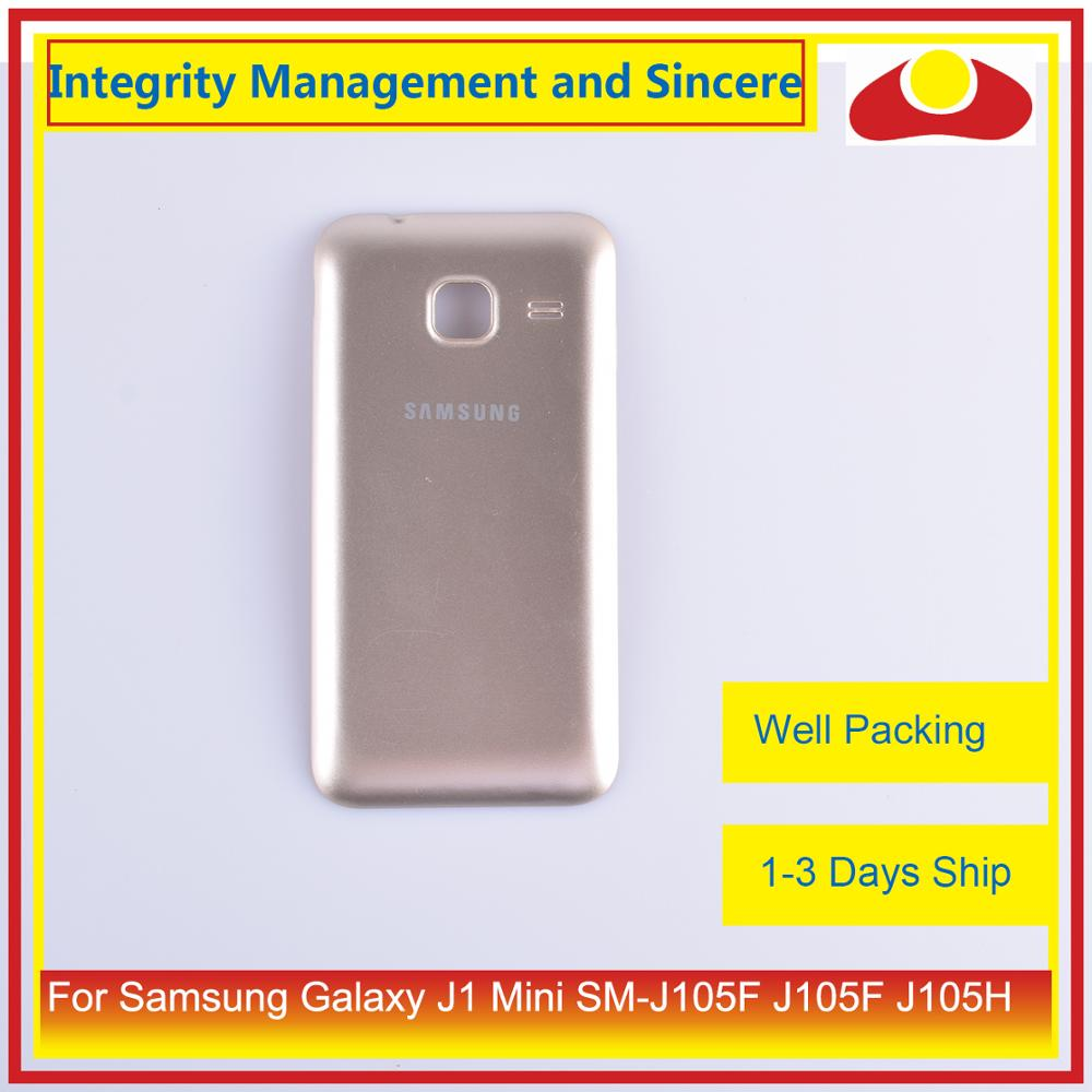 Image 4 - Original For Samsung Galaxy J1 Mini SM J105F J105F J105H J105 Housing Battery Door Rear Back Cover Case Chassis Shell-in Mobile Phone Housings & Frames from Cellphones & Telecommunications