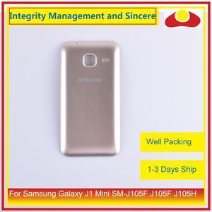Image 4 - מקורי עבור Samsung Galaxy J1 מיני SM J105F J105F J105H J105 שיכון סוללה דלת אחורי כיסוי אחורי מקרה מארז פגז
