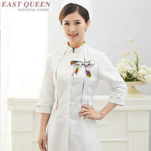 13c75a611 Uniforme da enfermeira gola mulheres roupas bodycon magro beleza médica  moda roupas uniformes de enfermagem do hospital venda qu.