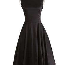 Vestido de mujer negro sexy novedad fiesta dama de honor vintage boda ropa tallas xxxl ropa de mujer vestido de noche vestido kleding