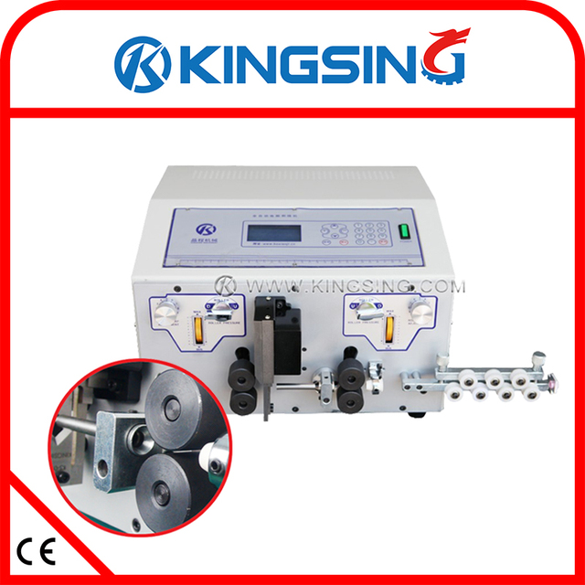 KS 09H(220V) Fully Automatic Wire Processing Machine, Peeling ...