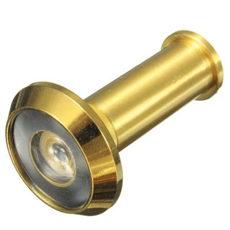 Регулируемая 180 градусов Широкий формат Дверь латуни просмотра область глазок для дома безопасности Мебельная фурнитура ...