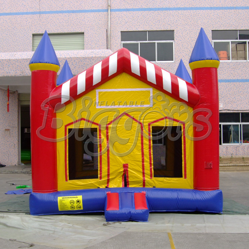 цена на FREE SHIPPING BY SEA Popular PVC Commercial Inflatable Bouncer Bouncy Castle Inflatable Toy For Children