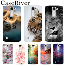 CaseRiver FOR Capa LG K10 Case Cover Soft Silicone Phone Case FOR LG K10 / K10 Lte 2016 K420N M2 K410 K430 K430DS F670 Dual
