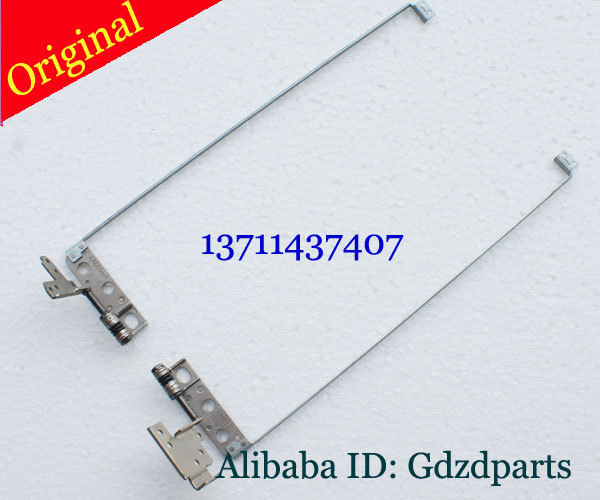 Original para dell inspiron17-7000 7737 21f5p left & right lcd bracket & dobradiça