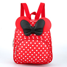 hot deal buy children bags for girls kindergarten cartoon bow tie baby girl school backpack children school bags cute children backpack 646