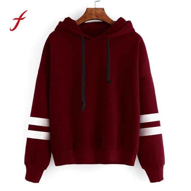 Frauen Hoodie Sweatshirts Langarm Mit Kapuze Pullover harajuku Sweatshirts  Weibliche Jumper Trainingsanzüge Sportswear moletom feminino 222c1d671a