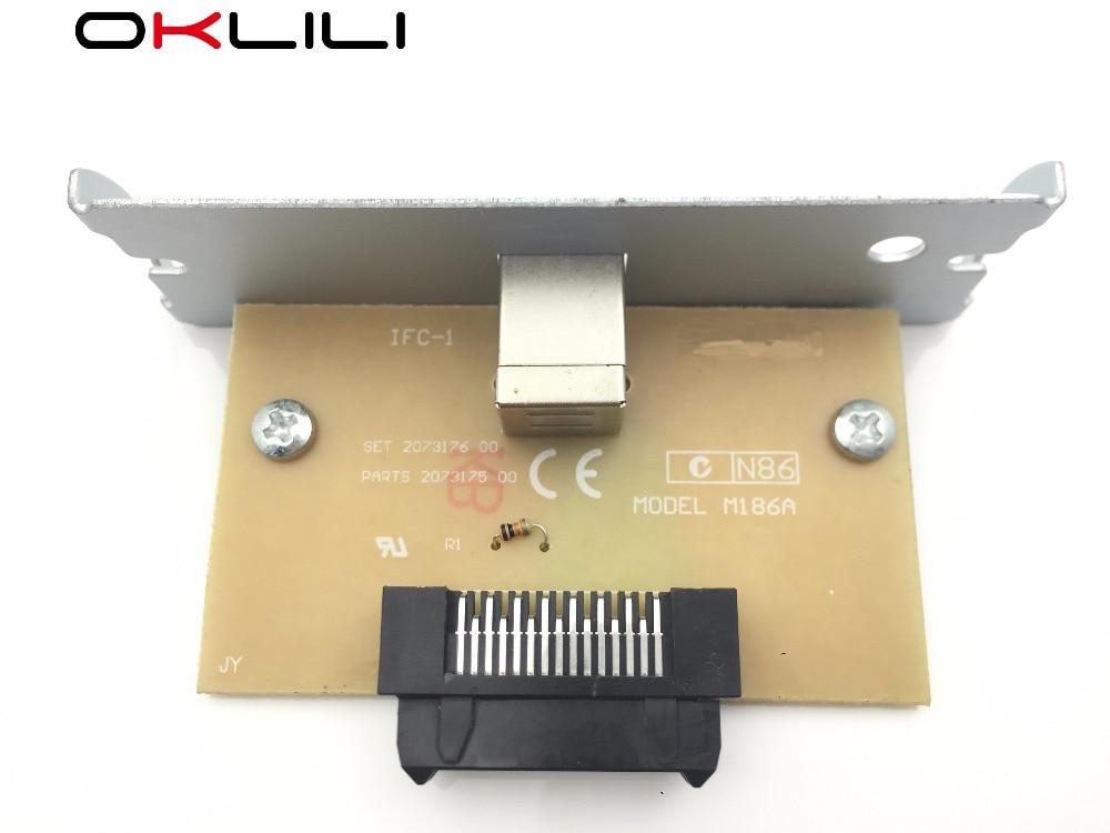 UB-U05 M186A C32C823991 A371 USB Port Interface Card for Epson TM-T88V TM-H6000IV TM-T88IV T88V H6000IV TM-T81 TM-T70 T81 T70 burberry кружевное платье