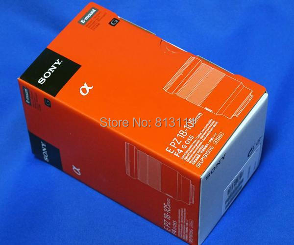 New Sony 18-105 Lens for Sony E PZ 18-105mm f/4 G OSS Lens new sony fe 24 240mm f3 5 6 3 oss zoom lens sel24240