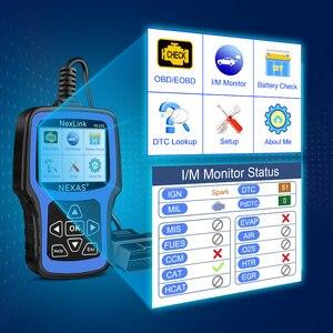 Image 2 - NEXAS NL101 OBD2 Ô Tô Máy Quét Động Cơ Vape Pin OBDII Máy Quét PK CR3001 ELM327 Chuyên Nghiệp EOBD OBD Xe Công Cụ Chẩn Đoán