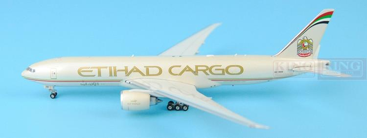 Phoenix 11176 B777F 1:400 A6-DDB freighter Etihad Airways commercial jetliners plane model hobby phoenix 11037 b777 300er f oreu 1 400 aviation ostrava commercial jetliners plane model hobby