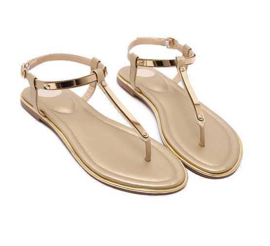 2017 New Women Flat Sandals Microfiber Rome Ladies Sandals Sexy Womens Shoes Sandalia Feminina Sapatos Feminino