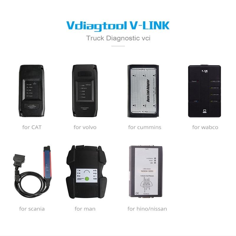 HOT SALE] New Truck Diagnostic Tool Vdiagtool V link for