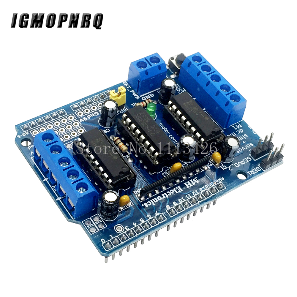 L293D motor control shield motor drive expansion board FOR motor shield