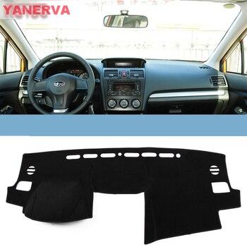 Interior Car Dashboard Cover Light Avoid Pad Photophobism Mat Sticker For Subaru XV