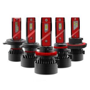 1 Set H4 F3 Car LED Headlight 9003 H7 H8