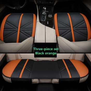 leather universal Car seat cover not moves auto cover Car Styling For Hyundai i30 ix35 ix25 Elantra Santa Fe Sonata Tucso image