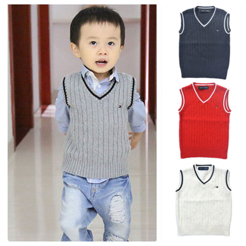 bf12520b03e0 Spring autumn 100% cotton kids clothing baby cardigan boy s V neck ...