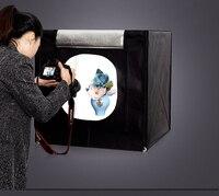 Cy 70*70*70センチledフォトスタジオソフトボックスライトテントソフトボックスfotostudio写真ライトボックス用電話カメラデジタル一眼レフジュエリーおもちゃ