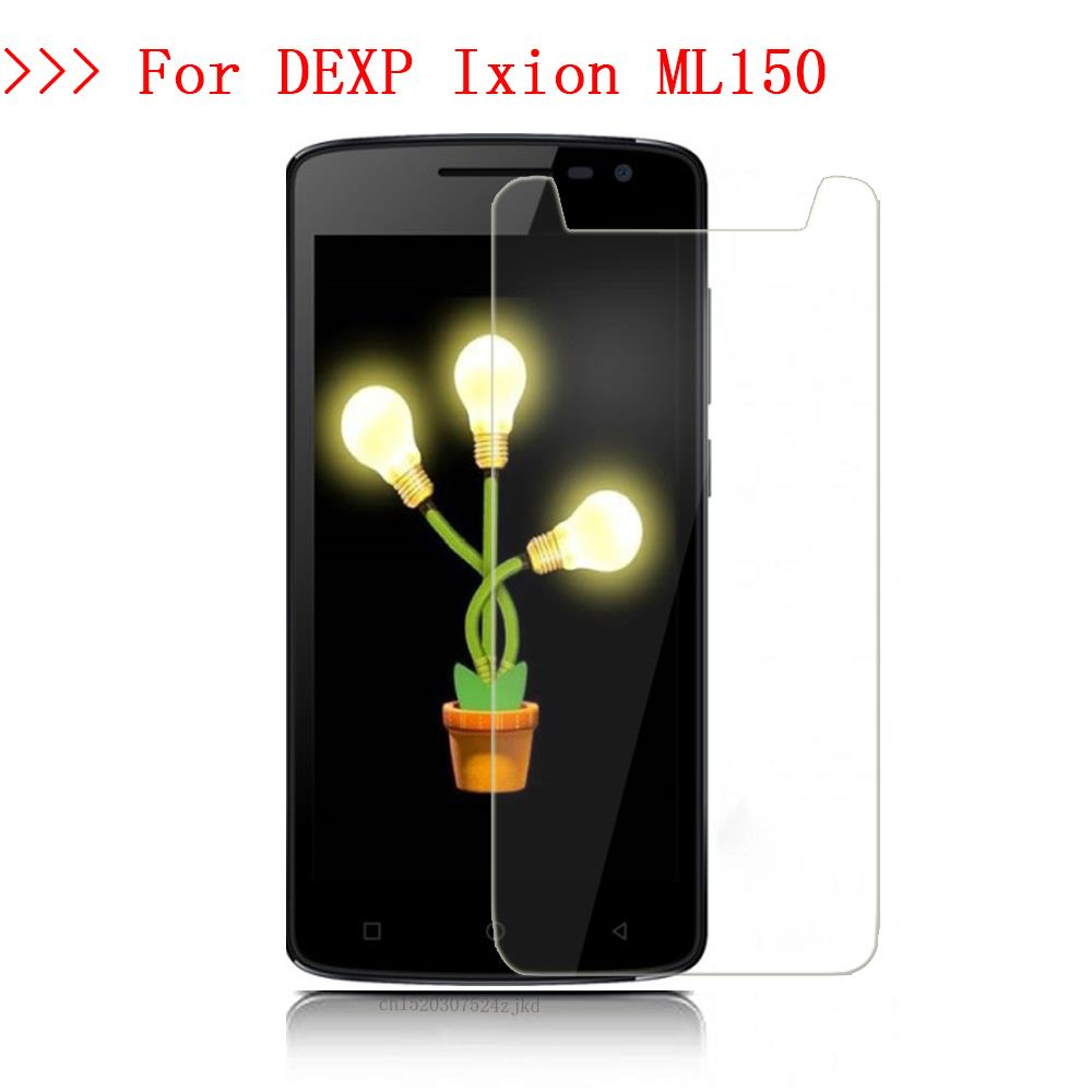 For DEXP <font><b>Ixion</b></font> ML150 Amper M Tempered Glass Screen Protector 2.5D 9H Protective Film on <font><b>ML</b></font> <font><b>150</b></font> 5.0inch Dexp <font><b>ixion</b></font> Screen image