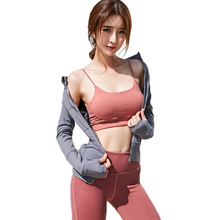 Women Sets  Athletic Running Quick Dry Tracksuits 5 pieces Set Outdoor Fitness Sports 8055s