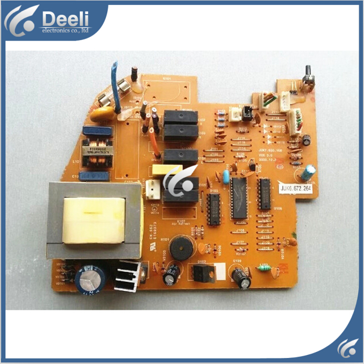 95% new good working for air conditioning motherboard Computer board JUK6.672.264 board good working