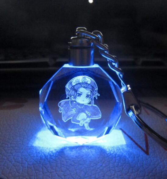 Аниме брелок светодиодный кристалл Хеталия