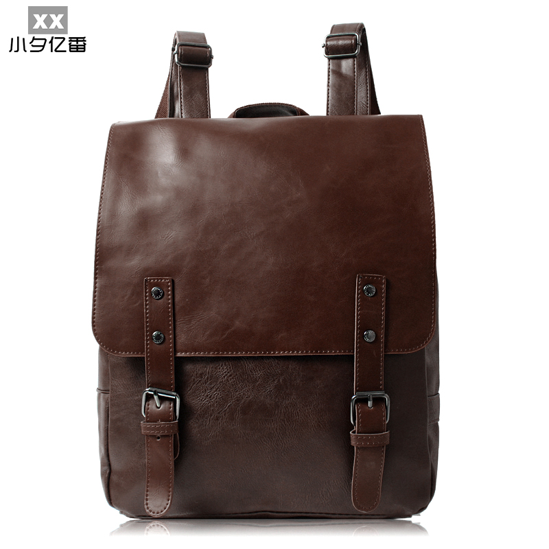 2016 Brand Designer Leather Men's Backpacks New Fashion Women Bag Printing Backpack High Quality Travel Bag Rucksack Bolsa A0141  цена и фото