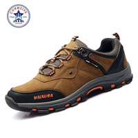 Freeshipping Outdoor Hiking Shoes Sapatilhas Sneakers Climbing Trekking Boots Sports Camping Men Sport Suede Leather Rubber
