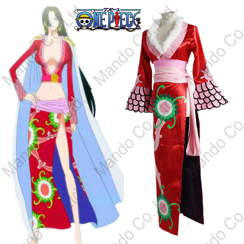 Anime One Piece Boa Cosplay kostimi za žene seksi haljina odori Halloween cosplay party odjeća