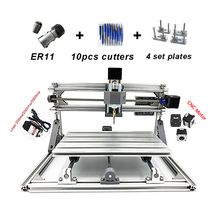 mini laser CNC router 3018 pro GRBL control with  head pcb engraver diy milling machine desktop cnc machine 3040z usb mach3 control pcb milling machine drilling router with handwheel