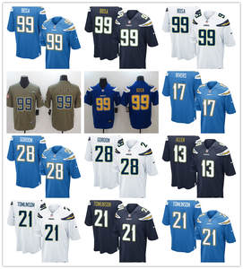 Top top 10 largest football jerseys chargers brands  for cheap