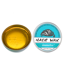 IMMETEE New Product Hair Color Wax For Men&Women Hair Styling Blonde 120g*2 immetee new product hair color wax for men