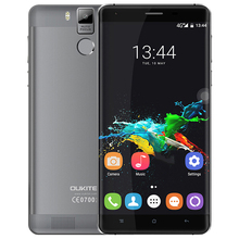 "OUKITEL K6000 Pro Mobile Phone 4G Android 6.0 5.5"" Screen Smartphone MTK6753 Octa Core 3GB RAM 32GB ROM 13.0MP 6000mAh Phone"
