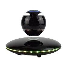 Schwebenden Bluetooth Lautsprecher Tragbare Drahtlose Bluetooth Lautsprecher mit Bunte Lichter 360 Grad-umdrehung (SCHWARZ)