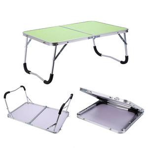 Image 5 - Folding Computer Desk Multifunctional Light Foldable Table Dormitory Bed Notebook Small Desk Picnic Table Laptop Bed Tray