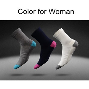 Image 2 - 3 Pairs Hight Quality Australia Merino Wool thick Socks for Men and Women Winter Casual Warm Crew Socks