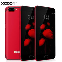 XGODY D23 Smartphone 5.5 Inch 1GB RAM 16GB ROM 8.0MP Camera Quad Core 1280×720 Dual SIM Telefone Celular 3G Unlocked Cell Phones