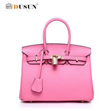 Dusun brands designer handbag handbags genuine messenger luxury shoulder bags leather