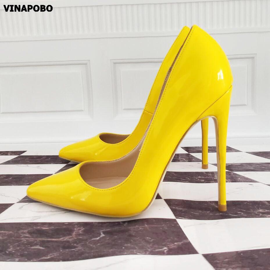 Vinapobo Brand Shoes 10 12CM Stiletto Heels Women Shoes
