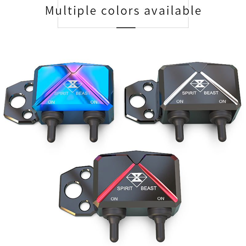 Image 2 - SPIRIT BEAST Motorcycle Scooter Switch Control Box Handlebar Headlight CNC Aluminium Alloy Hazard Light Waterproof Switch Box-in Motorcycle Switches from Automobiles & Motorcycles