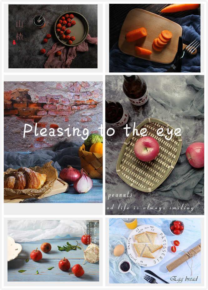 Studio Photo 57*87CM Double côtés photographie arrière-plans imperméable à l'eau Premium marbre Texture fond pour Photo alimentaire bijoux