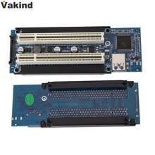 PCI-E Express X1 для Двойного PCI Riser Расширение Адаптер Карты с 1 М USB3.0 Кабель Высокого Качества