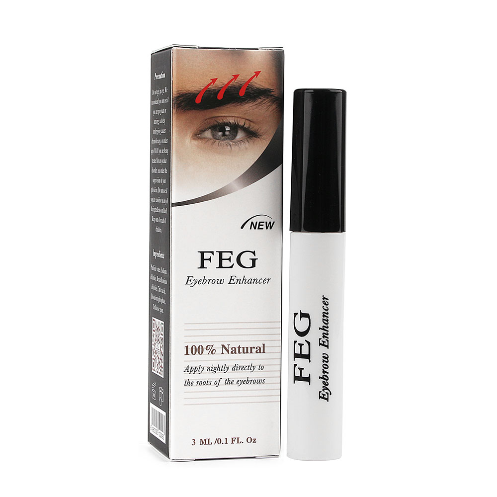 US Stock Eyebrows Growth Serum Eyebrow Beauty Enhancer Eye Lash liquid Treatment Longer Thicker Blacker Eyelash Extension
