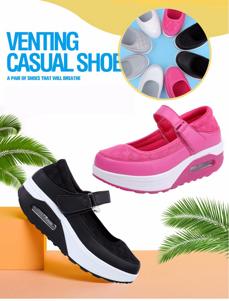 Mary Janes Style Women Casual Shoes Fashion Low Top Platform Shoes zapatillas deportivas mujer Breathable Women Trainers YD129 (1)